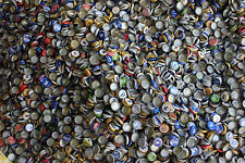 500 MIXED BEER BOTTLE CAPS MULTI COLOR DENTS CLEAN NO GUNK FREE FAST SHP C STORE