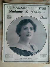 le magasine illustré madame monsieur n°84 de 1907 mode