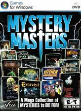 15 NEW PC Mystery Masters 15 Pack - Mega Collection Hidden Object Adventures