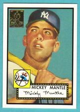 1996 Topps Mickey Mantle #2 1952 Topps Reprint Yankees