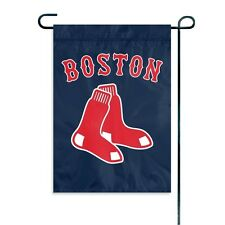 "MLB Boston Red Sox Mini Garden/Window Flag NEW 15"" x 10.5"""