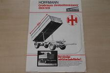 162839) Hoffmann Dreiseitenkipper DKN 10 B Prospekt 198?
