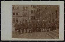 Bielefeld-Detmold-1920 er-Schutzpolizei-SchuPo-Wache-Hundeführer-Hund-2