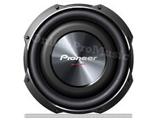 "PIONEER TS-SW3002S4 1500 WATTS 12"" SINGLE 4 OHM SHALLOW MOUNT TRUCK SUBWOOFER"