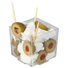 288x Mini need more kitchen amenities claro en cubos tazones de fuente 68ml-al por mayor/bulto desechables (Ref:113)