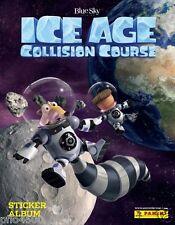 Curso de colisión Ice Age Pegatina Colección Álbum & todas las pegatinas para completar