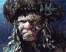 ANDY BECKWITH  Pirates Of The Caribbean GENUINE AUTOGRAPH UACC (R11134)