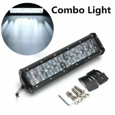 """12"""" 120W LED Phare Feux Travail Combo IP67 Pour SUV Truck 4WD ATV Bateau Offroad"""