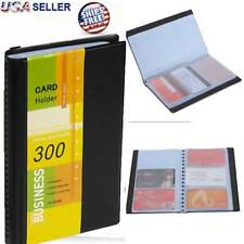 Bluboon Business Card Holder Book Pu Leather 240 Name Cards