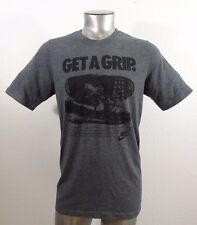 Nike Get A Grip men's t-shirt gray slim L