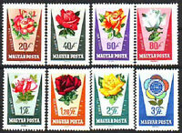 HUNGARY - 1962. Rose Culture - MNH