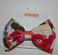 New Gymboree Flower Bow Barrette Clip Hair Accessory NWT Surf Adventure