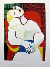 "Pablo Picasso ""THE DREAM"" Estate Signed Limited Edition Giclee"
