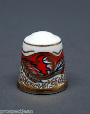 TCC Don Pottery Gold Imari China Thimble B/73