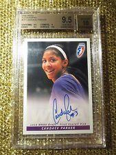 Candace Parker 2008 WNBA Los Angeles Sparks Rookies Autograph BGS 10 pristine