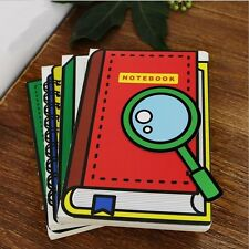 """""""Study Fun"""" 1pc Cute Blank Paper Notebook Diary Sketchbook Journal Study Notepad"""