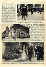 Zur Einweihung des neuen Gebäudes der kgl.Handes-u.Gewerbeschule in Potsdam 1908
