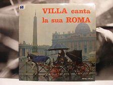 CLAUDIO VILLA - VILLA CANTA LA SUA ROMA LP UNPLAYED COVER: EX