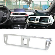 Interior Chrome Dashboard Central Console Air Vent Cover for BMW 3 Series F30
