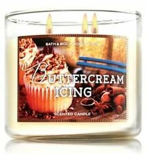 1 Bath & Body Works BUTTERCREAM ICING Large 3 Wick Candle 14.5 oz Big New