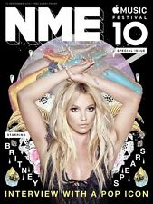 The NEW MUSICAL EXPRESS NME 16 SEPTEMBER 2016 BRITNEY SPEARS Front Cover n.m.e.