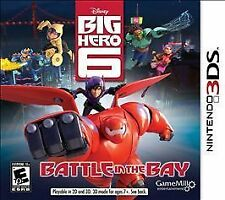 Big Hero 6: Battle in the Bay (Nintendo 3DS, 2014)