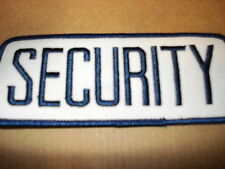 SECURITY NEW CLOTHING PATCH