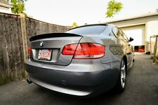 BMW e92 Carbon Fiber High Kick Performance style Trunk SPOILER