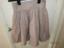 H & M Skirt Divided flared skirt dusky pink size 8 length 19 inches