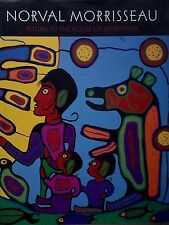 NORVAL MORRISSEAU RETURN TO THE HOUSE OF INVENTION FIRST NATIONS ART HC/DJ
