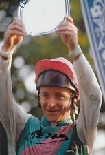 Pat Eddery Hand Signed 12x8 Photo Horse Racing Legend 2.