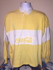 80s Vintage Coca Cola Shirt Original Soda Coke Hip Fresh Rugby 1980s