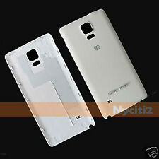 5x NEW White Housing Battery Back Door Cover fr Samsung Galaxy Note 4 N910A AT&T