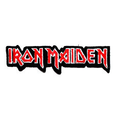 Iron Maiden Heavy Metal Hard Rock Music Band Punk Jacket Clothing Bag Iron Patch