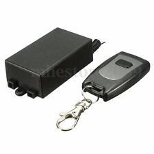 Wireless 1Ch 433MHz RF Remote Control Garage Door Opener Receiver + Transmitter