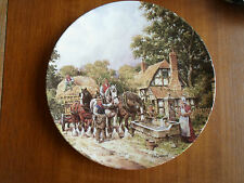 """Royal Doulton Plate """"At The Water Trough John Chapman The Countryside Remembered"""
