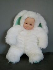 PELUCHE Lapin Anne GEDDES d'occasion  - 40 cm