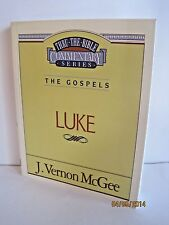 Thru The Bible Commentary Series Books by J. Vernon McGee, Lot of 6 Books