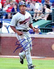 Signed  8x10 BEN REVERE Minnesota Twins Autographed photo - COA