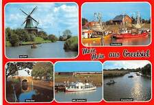 "Germany Greetsiel, Am Tief Altes Siel Ms ""Gretchen"" Fischkutter Fishing Boats"