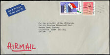 Hong Kong 1990 Commercial Air Mail Cover To UK #C37919