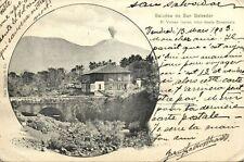 el salvador C.A., SONSONATE, El Volcan Izalco, Volcano (1903)