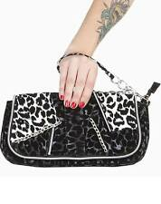 Voodoo Vixen Leo Clutch Handbag Pin up retro 50's Rockabilly Purse bag BGA3514
