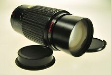 Pentax K Mount Tou Five Star Mc Auto Macro Zoom 70-200mm F4 Camera Lens