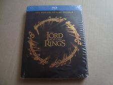 Lord of the Rings TRILOGY Blu-Ray SteelBook NEW&SEALED Peter Jackson Hobbit G2
