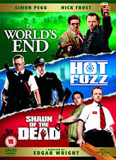 DVD:THE THREE FLAVOURS CORNETTO TRILOGY - THE WORLDS END /  - NEW Region 2 UK