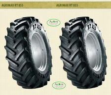 Tractor Tyre 340/85R x 24 BKT Agrimax Two tyres no wheels Delivered