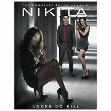 Nikita ~ Complete 3rd Third Season 3 Three ~ BRAND NEW 5-DISC DVD SET