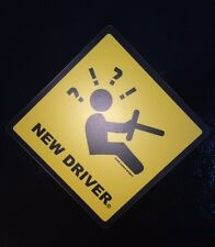 AWESOME NEW DRIVER CAR MAGNET! HEAVY DUTY! REMOVABLE! STUDENT DRIVER!