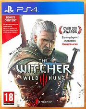The witcher 3 wild hunt-Playstation PS4 games-très bon état-iii